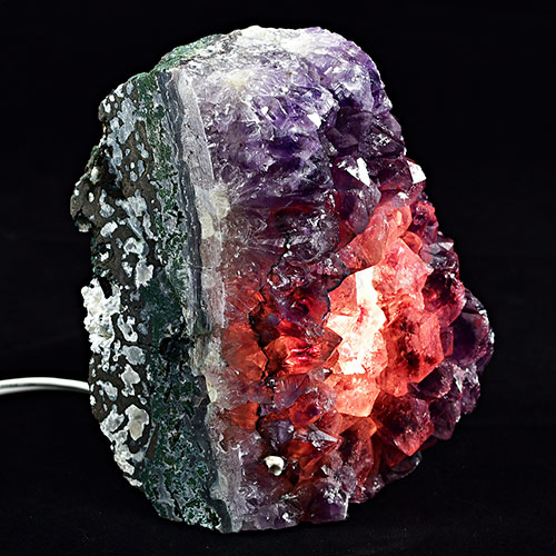 Amethyst Crystal Lamp
