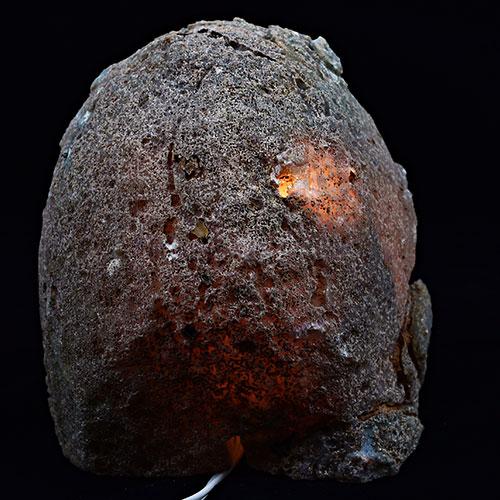 Natural Agate Crystal Lamp