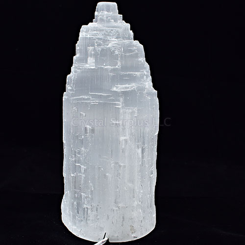 Selenite Crystal Lamp